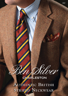 Authentic British Striped Neckwear Catalog 2017