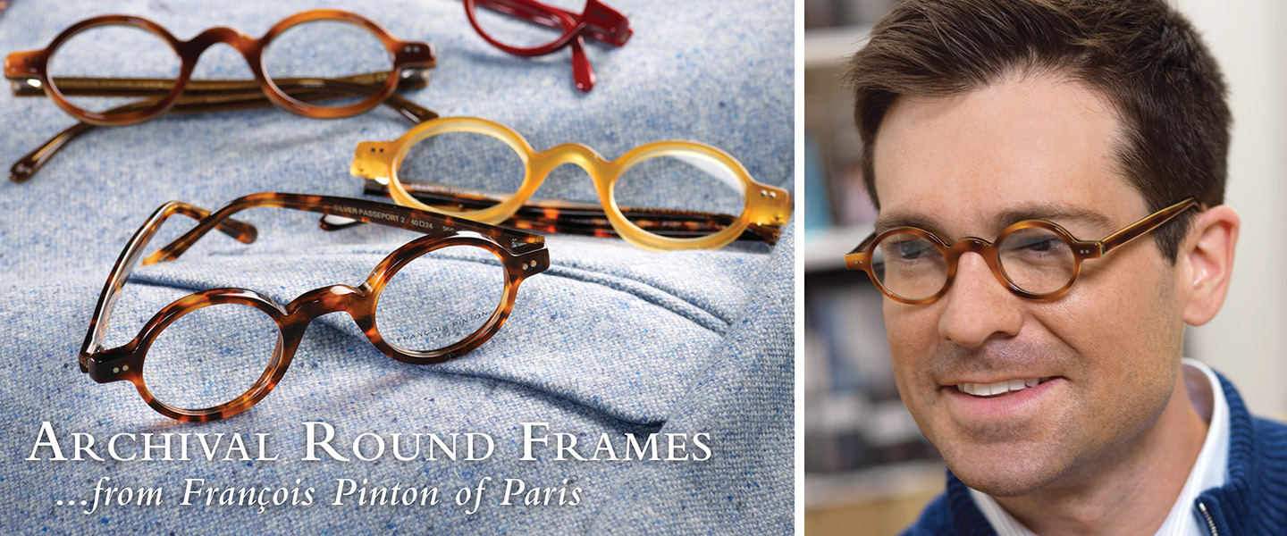 Round Frames...whimsical and charming.