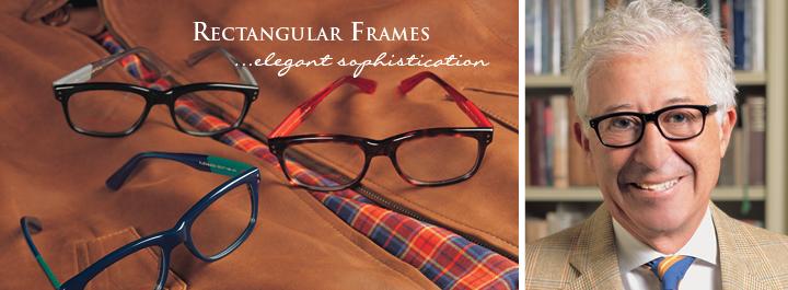 Rectangular Frames...elegant sophistication.