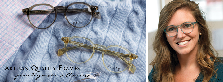 Sophisticated Semi-Square Frames...in updated colors.