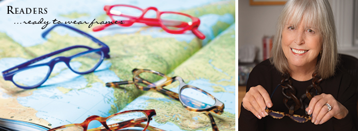 Readers...ready to wear frames in vibrant colors