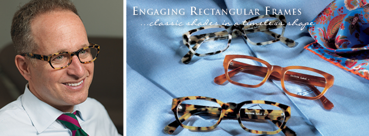 Rectangular Frames...elegant sophistication.