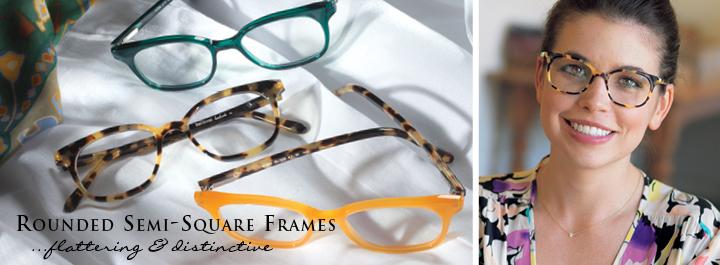 Square Frames...striking and elegant.