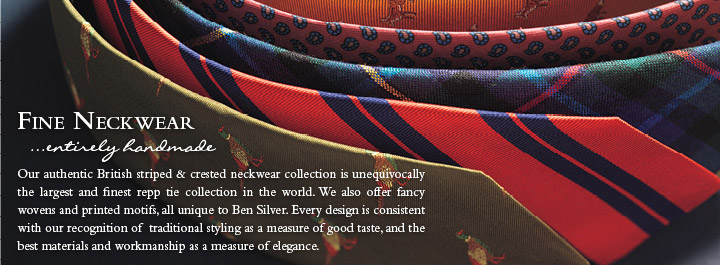 Fine Neckwear...entirely hand made