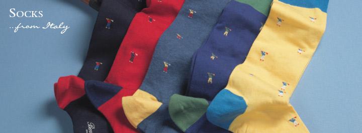 Socks from Italy
