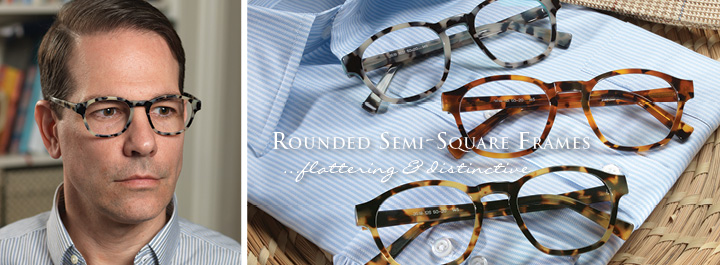 Square Frames...striking and elegant.