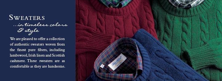 Sweaters...in timeless colors and style