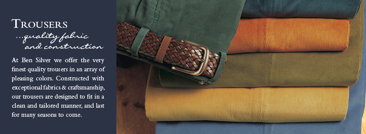 Dress Trousers...quality construction and fabric