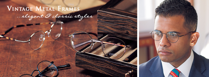Vintage Metal Frames...elegant and classic styles