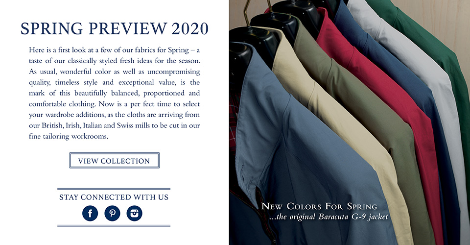 Spring Preview 2020 Collection